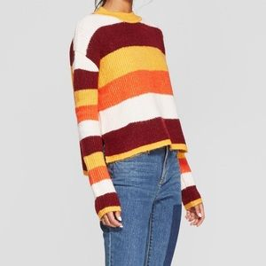 Sweaters - Striped pullover sweater
